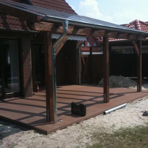 Terrassen und Überdachungen - Zimmerei Oldenburg und Wiefelstede